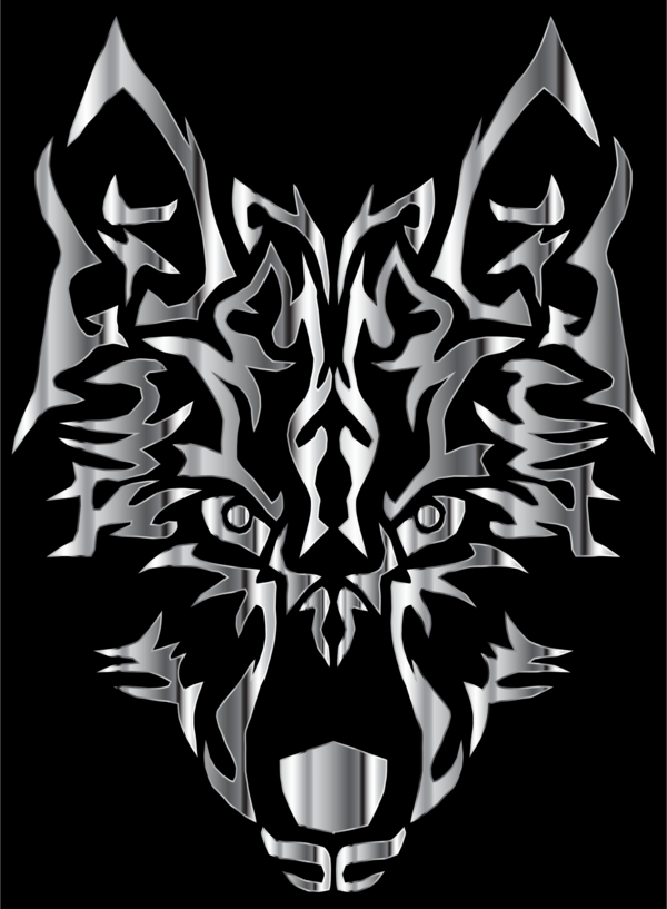 Transparent Dog Black And White Head Visual Arts Clipart for Animals