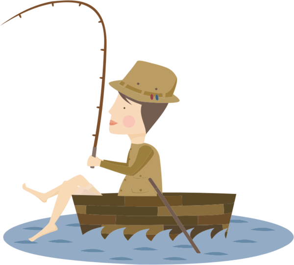 Transparent Fishing Headgear Clipart for Sports