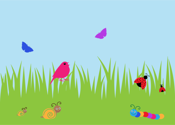 Transparent Butterfly Ecosystem Grass Butterfly Clipart for Animals