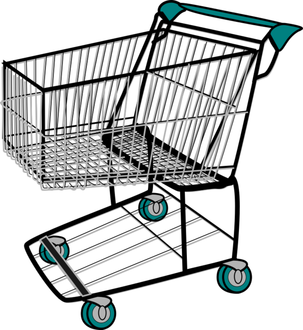 Transparent Shopping Shopping Cart Cart Vehicle Clipart for Clothing