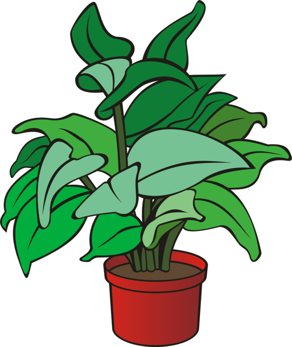 Transparent Gardening Plant Flower Leaf Clipart for Activities