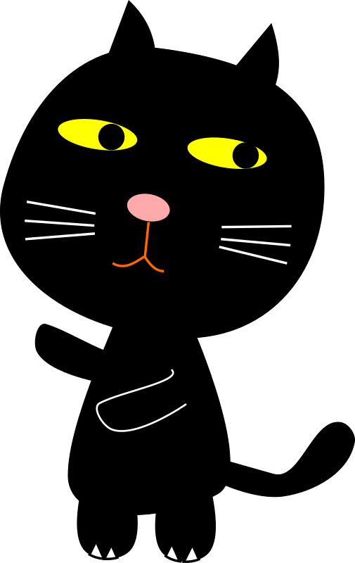 Transparent Cat Cat Whiskers Black Cat Clipart for Animals