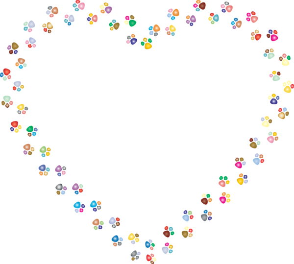 Transparent Cat Text Heart Line Clipart for Animals