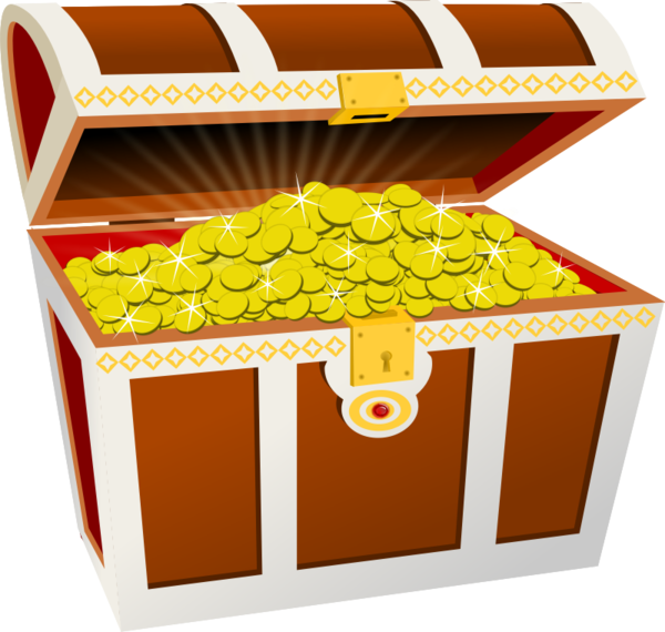 Transparent Hunting Food Fruit Box Clipart for Activities