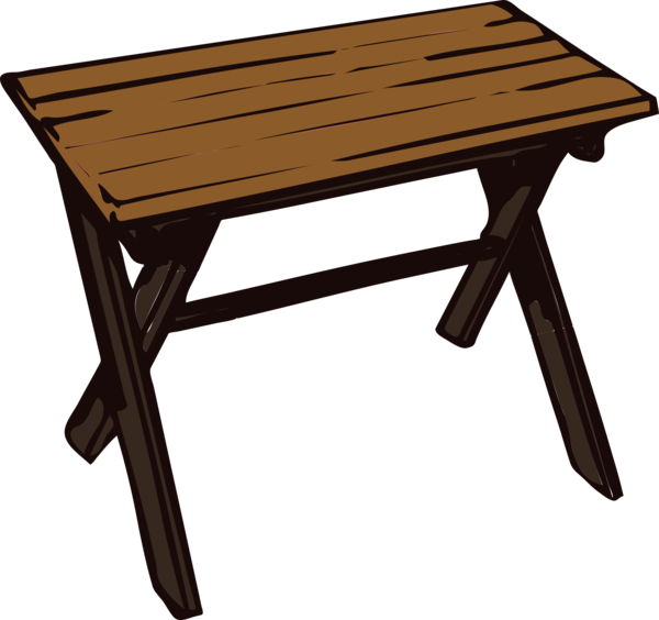Transparent Dining Furniture Table Outdoor Table Clipart for Activities