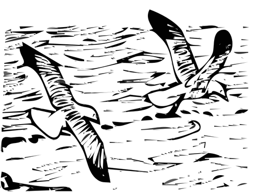 Free Bird Black And White Line Wing Clipart Clipart Transparent Background
