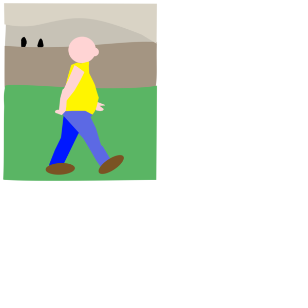 Transparent Walking Clothing Text Cartoon Clipart for Activities