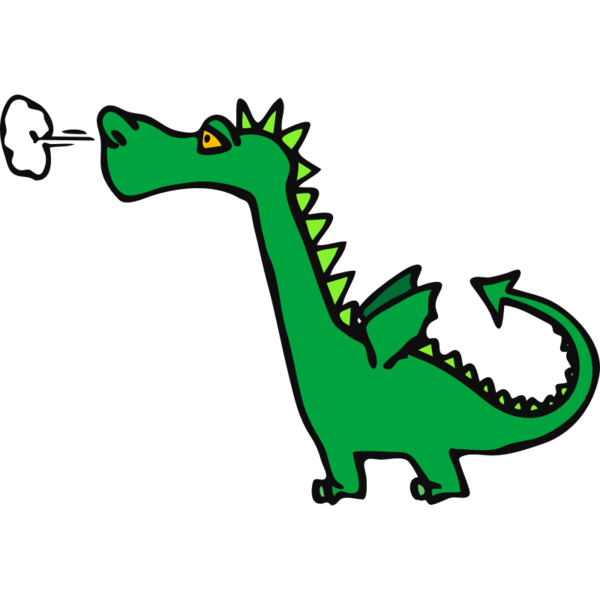 Transparent Dragon Area Line Line Art Clipart for Animals