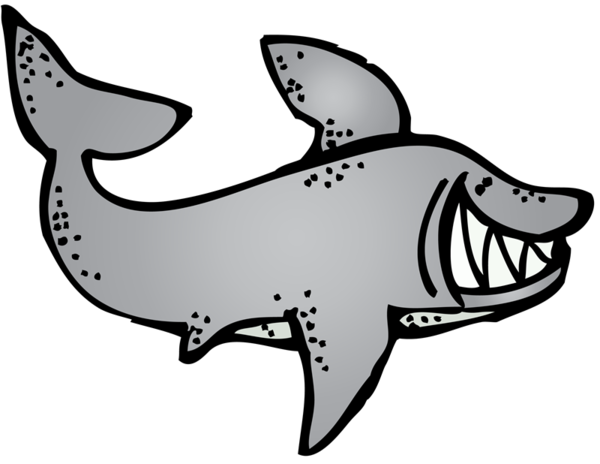Transparent Dog Fish Black And White Line Art Clipart for Animals