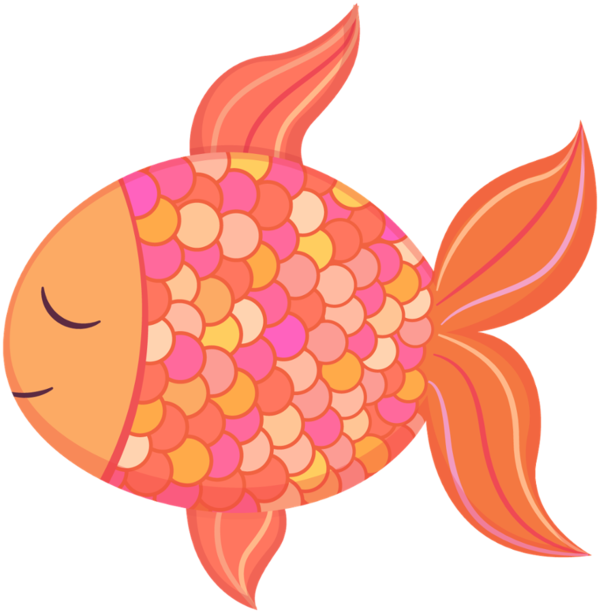 Transparent Fish Fish Food Flower Clipart for Animals