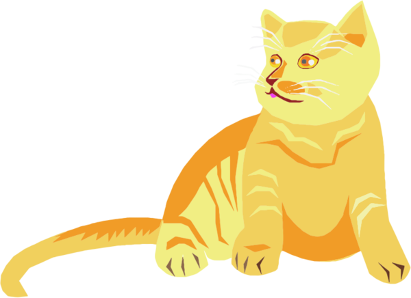Transparent Cat Cat Cartoon Whiskers Clipart for Animals