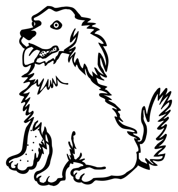 Dog Dog Black And White Puppy Clipart Dog Clipart Animals Clip Art
