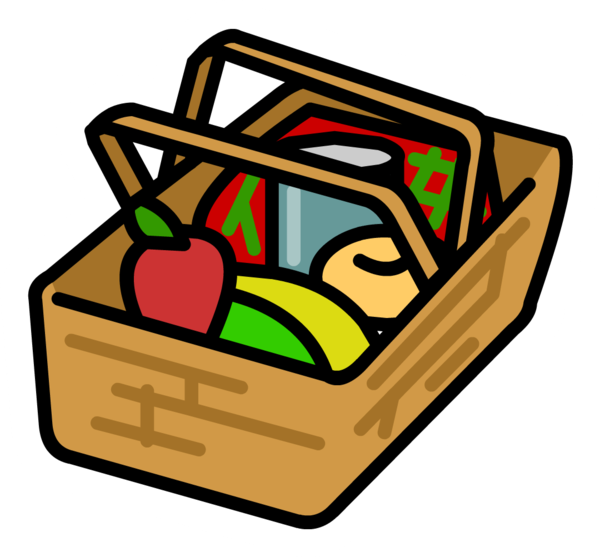 Transparent Picnic Line Area Food Clipart for Activities