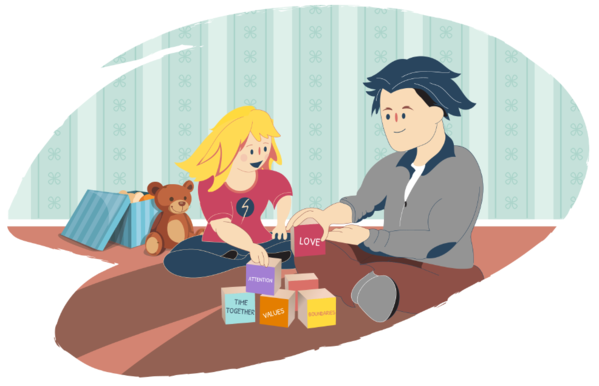 Transparent Reading Cartoon Play Reading Clipart for Activities