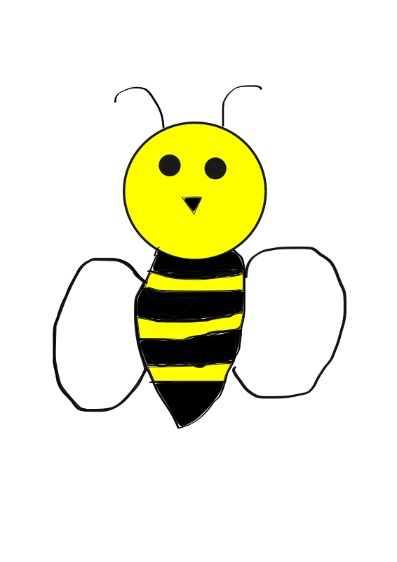 Transparent Bee Insect Smiley Bee Clipart for Animals