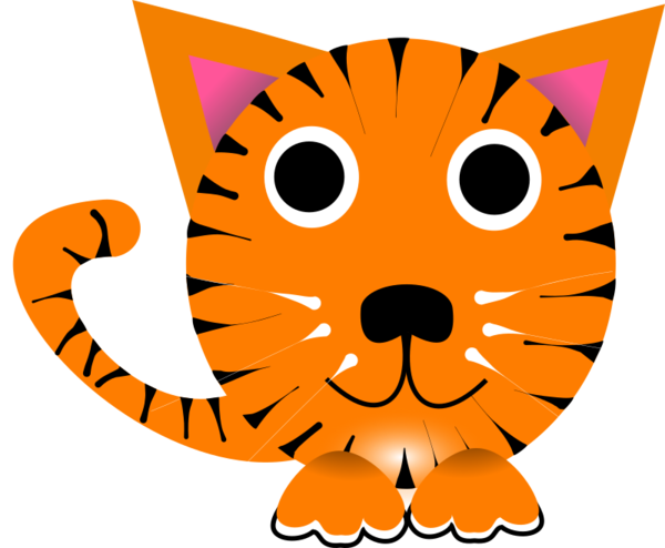 Free Cat Cat Whiskers Area Clipart Clipart Transparent Background