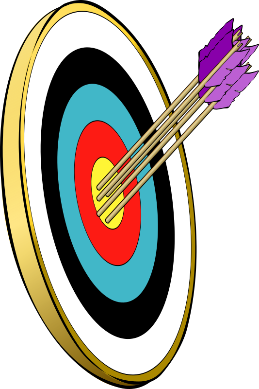 Transparent Hunting Target Archery Archery Line Clipart for Activities