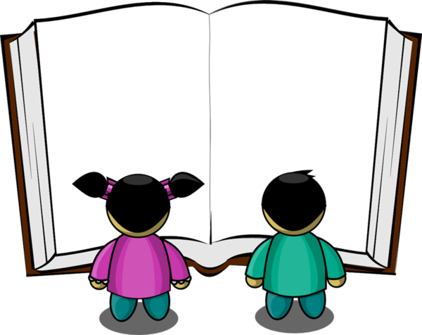 Transparent Reading Male Line Area Clipart for Activities