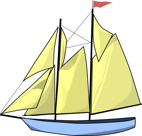 Transparent Boating Sailing Ship Boat Brigantine Clipart for Activities