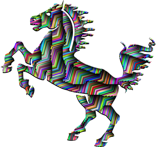 Transparent Horse Animal Figure Clipart for Animals