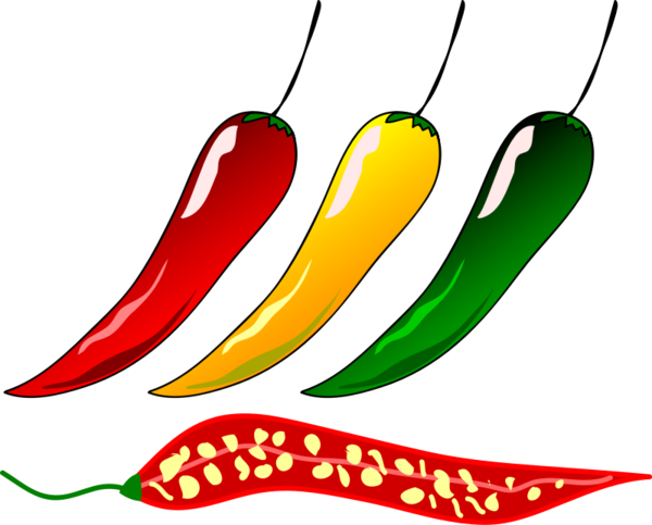 Transparent Bird Food Vegetable Chili Pepper Clipart for Animals