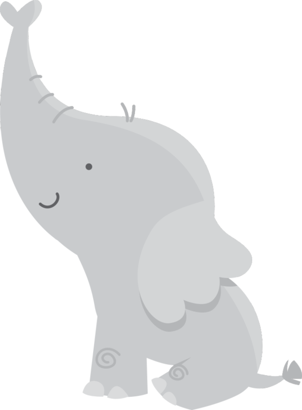 Transparent Bear Elephant Indian Elephant Black And White Clipart for Animals