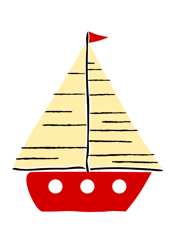 Transparent Sailing Christmas Tree Boat Sailing Ship Clipart for Activities