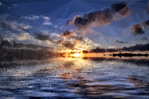 Transparent Water Sky Reflection Atmosphere Clipart for Nature