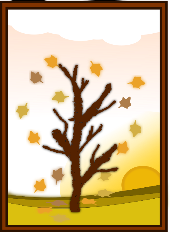 Transparent Autumn Leaf Tree Branch Clipart for Nature