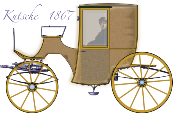 Transparent Bicycle Carriage Chariot Vehicle Clipart for Transportation