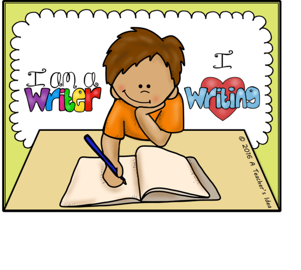Transparent Writer Text Facial Expression Cartoon Clipart for Occupations