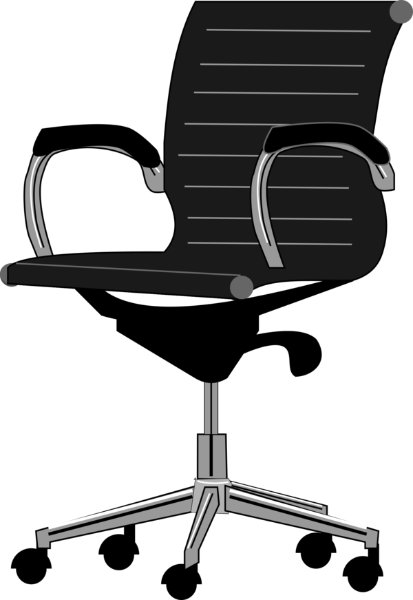 Transparent Office Furniture Office Chair Chair Clipart for Business