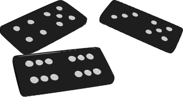 Transparent Pizza Black And White Dice Game Line Clipart for Food