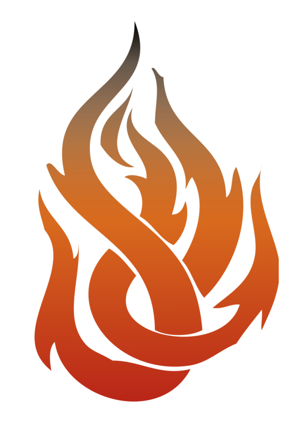 Transparent Fire Symbol Logo Clipart for Nature