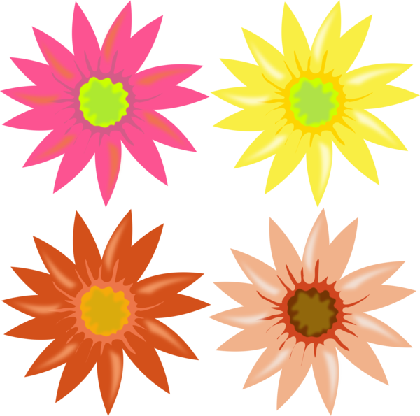 Transparent Family Flower Sunflower Flora Clipart for People