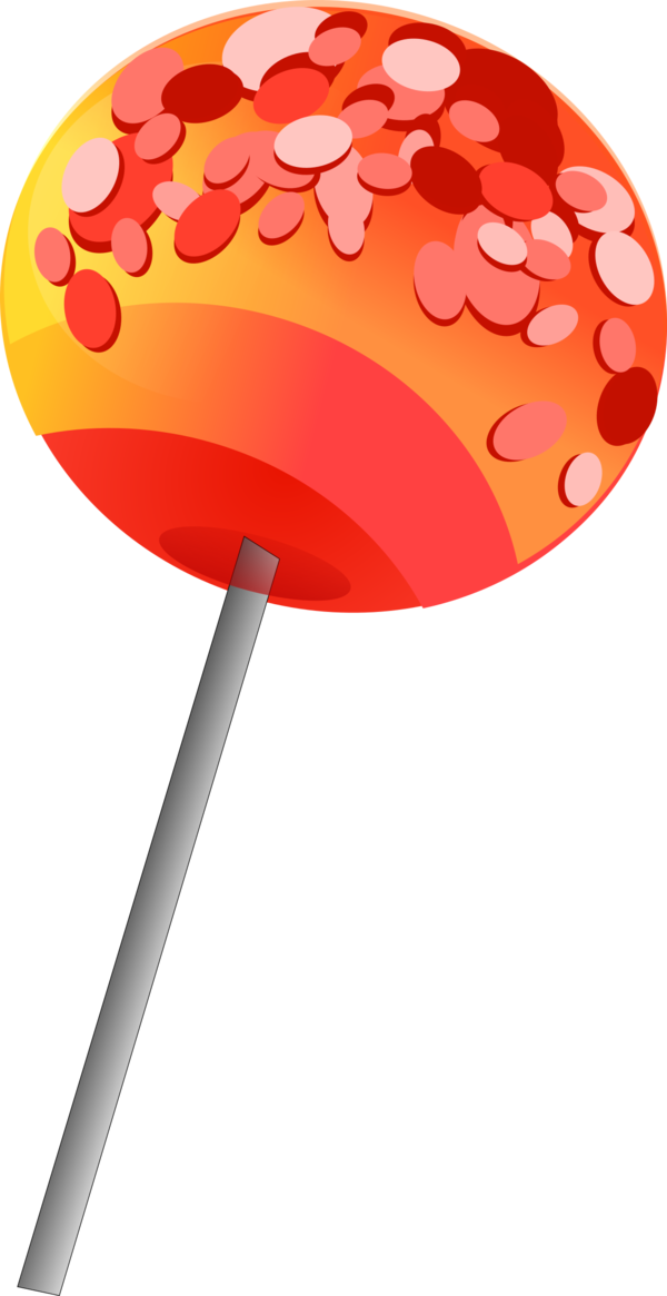 Transparent Candy Lollipop Clipart for Food