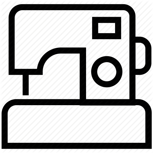 Transparent Sewing Text Black And White Technology Clipart for Clothing