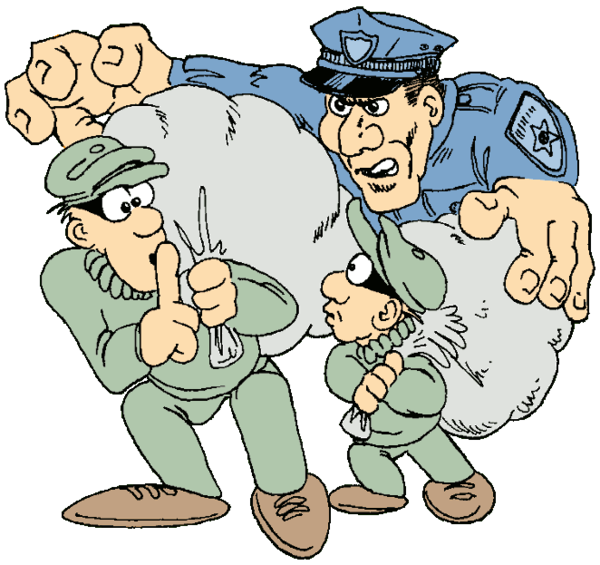 Transparent Police Male Cartoon Boy Clipart for Occupations