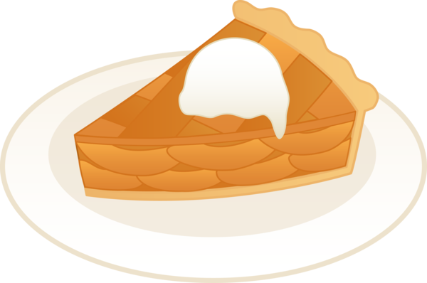 Transparent Apple Pie Food Commodity Clipart for Food