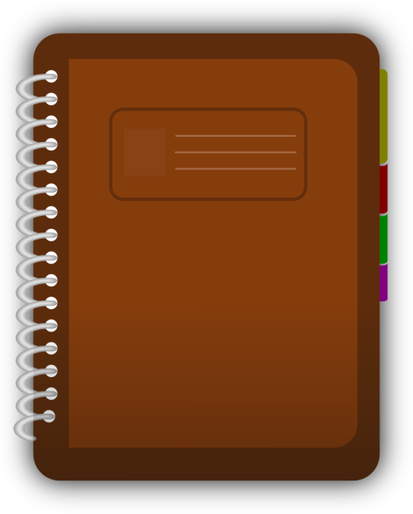 Transparent Book Rectangle Square Clipart for School