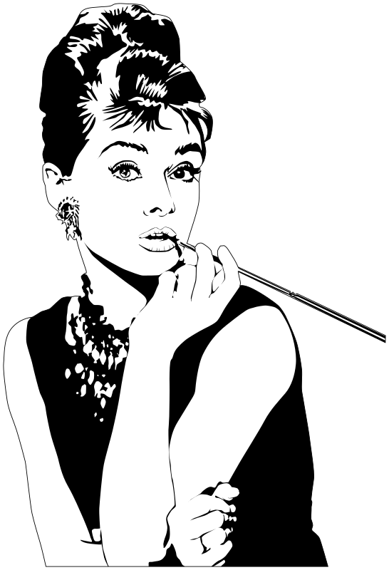 Transparent Woman Face Woman Black And White Clipart for People