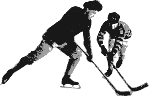 Transparent Hockey Sports Equipment Joint Male Clipart for Sports