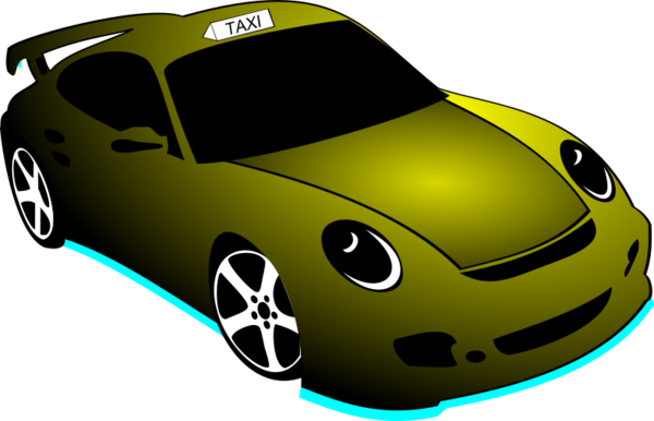 Transparent Taxi Car Technology Vehicle Clipart for Transportation