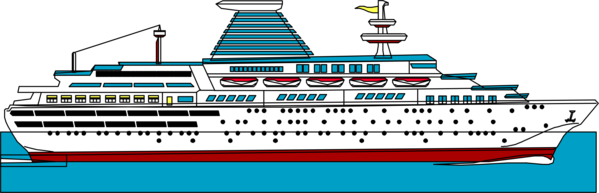 Transparent Water Passenger Ship Water Transportation Ship Clipart for Nature