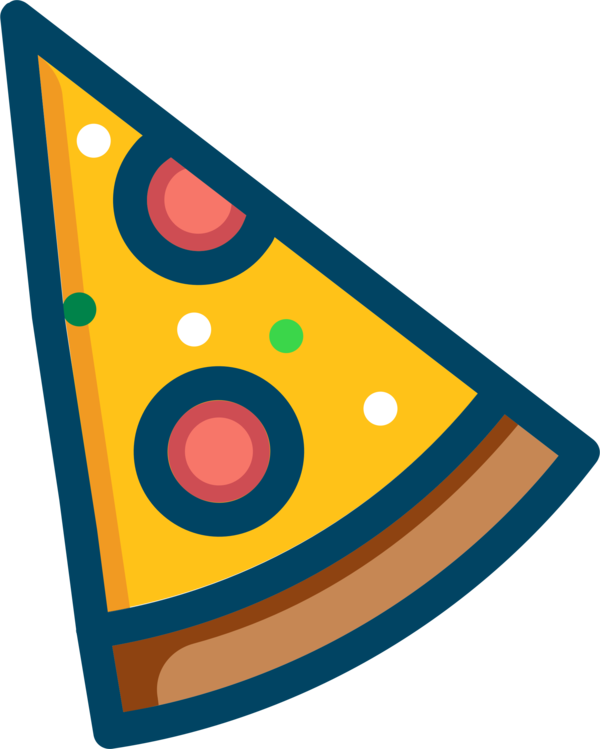 Transparent Pizza Line Smiley Area Clipart for Food