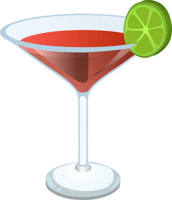 Transparent Cocktail Drink Cocktail Martini Glass Clipart for Drink