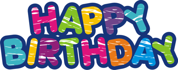 Transparent Birthday Text Area Line Clipart for Occasions