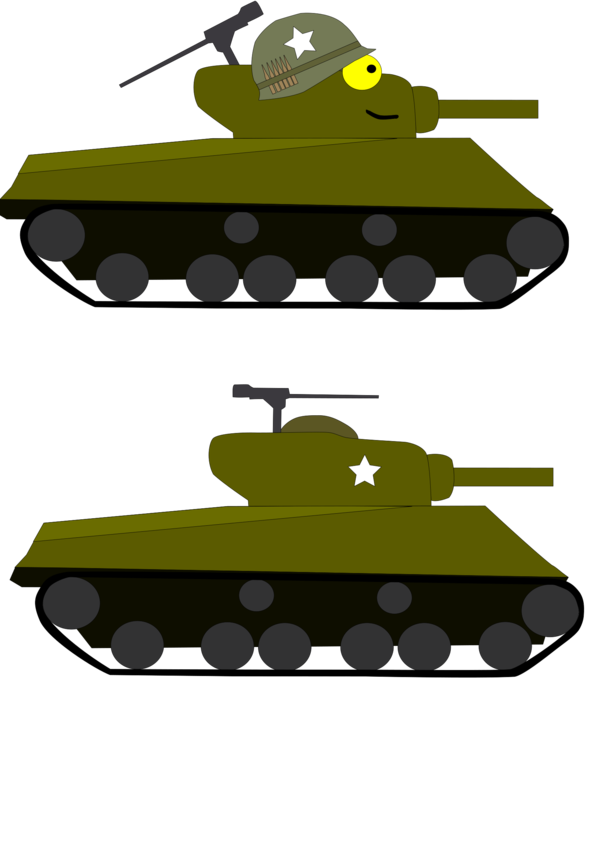 Transparent Tank Vehicle Combat Vehicle Tank Clipart for Military