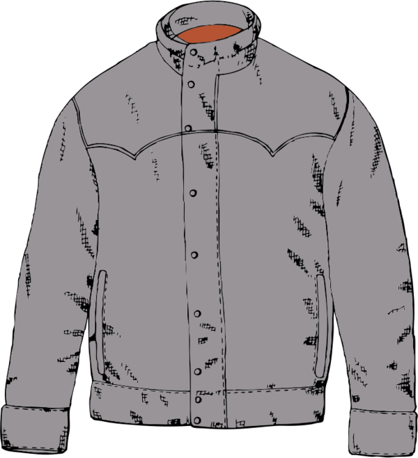 Transparent Jacket Jacket Sleeve Outerwear Clipart for Clothing