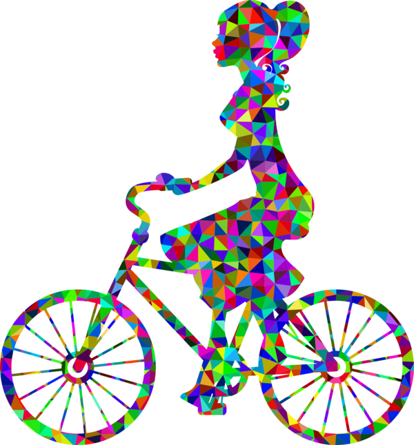 Transparent Bicycle Bicycle Wheel Bicycle Frame Bicycle Part Clipart for Transportation
